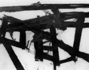 Conserving Mahoning, Franz Kline,1957