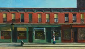 Early Sunday Morning, Edward Hopper, 1930